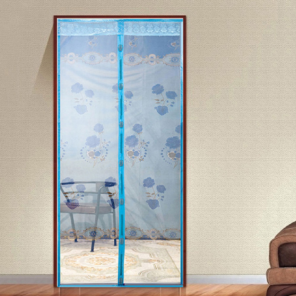 New The Arrival Hot 1Pcs 3 Colors Durab Summer Style Mesh Prevent Mosquito Net on the Door Magnets Kitchen Window Curtains
