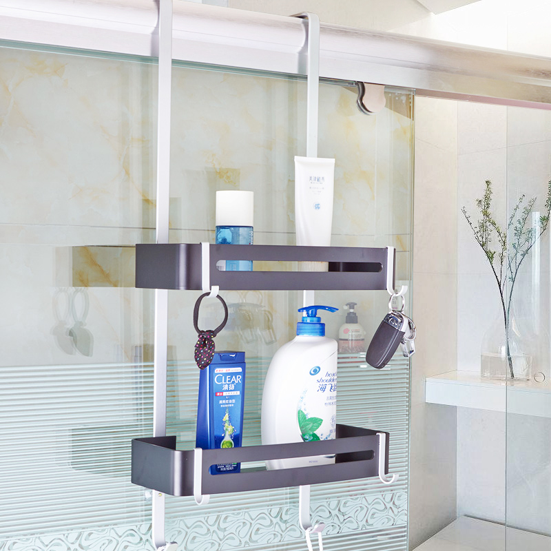 Nail Free Bathroom Shelf Corner Shelf Shower Room Hanging Corner ...