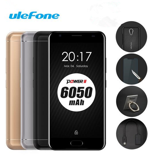 uleFone Power 2 Smartphone 4G 5 5inch 1920 1080pixel MTK6750T Octa Core Android 7 0 4GB