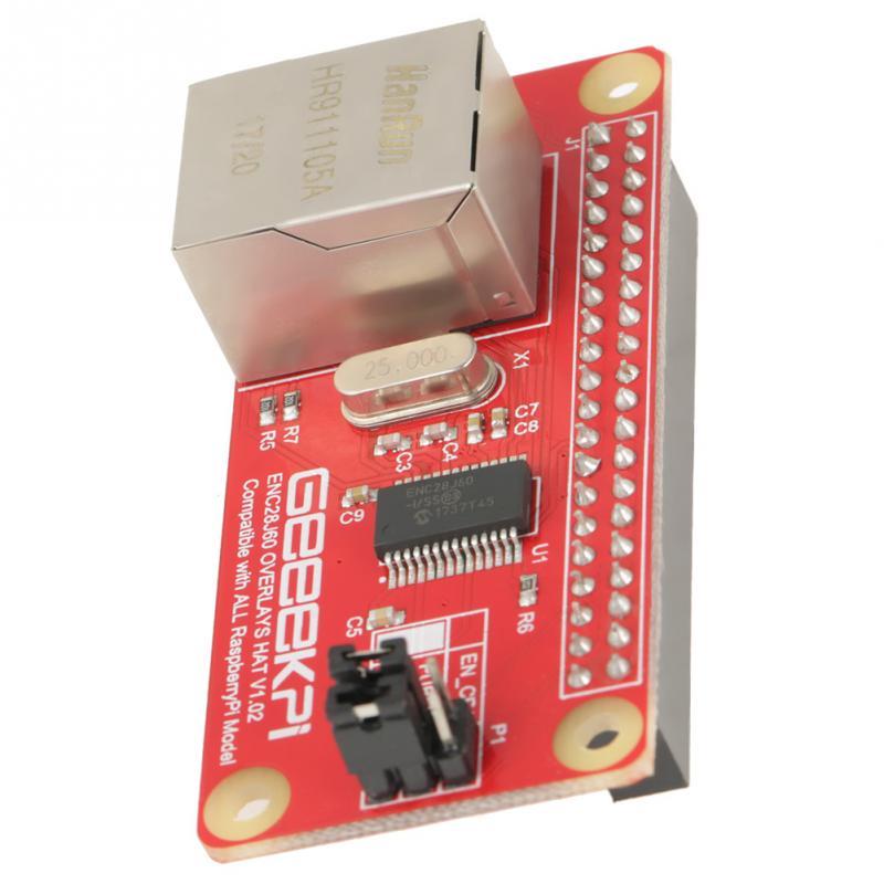 ENC28J60 Ethernet LAN Network Adapter Module for Raspberry Pi Zero Board New