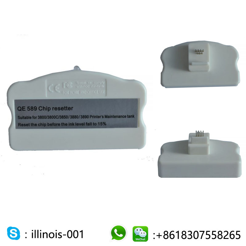 for Epson Ink Cartridge Chip Resetter for Stylus Pro 3800 / 3800C / 3850 / 3880 / 3890 / 3885