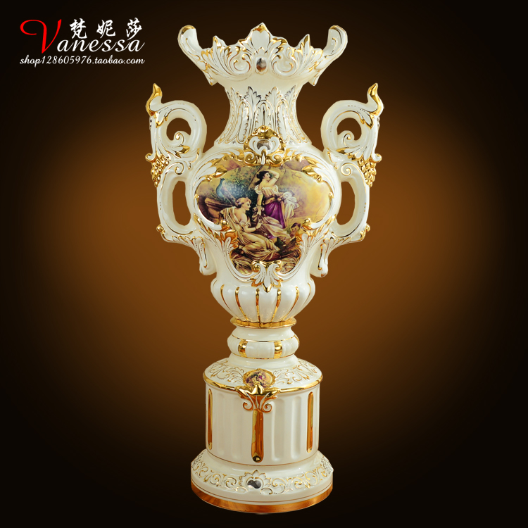 Deko wohnzimmer vasen gold  Online Get Cheap Gold Vase Luxus -Aliexpress.com | Alibaba Group