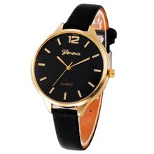 Ladies 's Watch Women Casual Checkers Faux Leather Quartz Analog Wrist Watch wristwatch Top Christmas Gifts ,XL33
