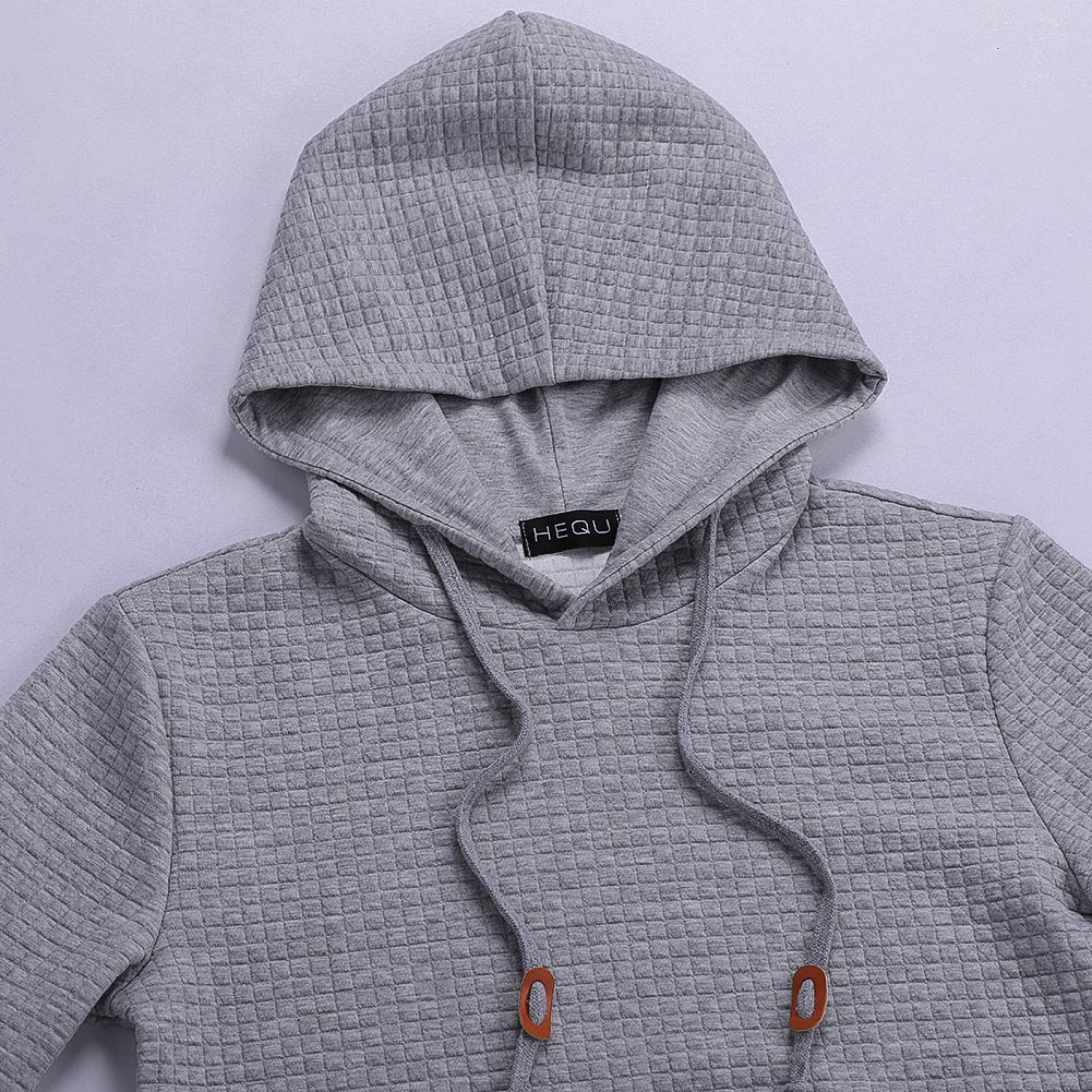 New Hoodies Men Brand Male Long Sleeve Solid Color Hooded Sweatshirt Mens Hoodie Tracksuit Sweat Coat Casual Streetwear