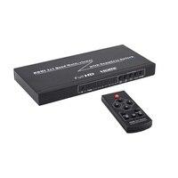 4x1 Przełącznik HDMI Quad Ekran HDMI Wielu viewer Multiviewer z funkcją HDMI Szybkie Przełączanie W Czasie Rzeczywistym pełna 1080 P 5 Tryby