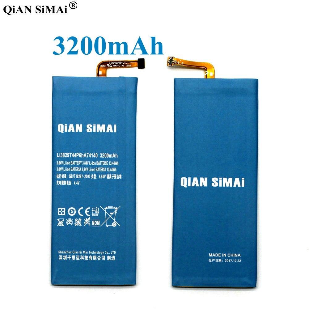 QiAN SiMAi Li3829T44P6hA74140 batería de 3200 mAH para ZTE Nubia Z7 Z9 NX508J NX510J NX511J Z9 Max Plus Z9 mini teléfono + código de seguimiento