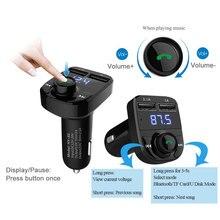 Fm-передатчик автомобильный bluetooth комплект громкой автомобильный mp3 аудио плеер Беспроводной FM модулятор громкой связи MP3 музыка для Iphone и andriod
