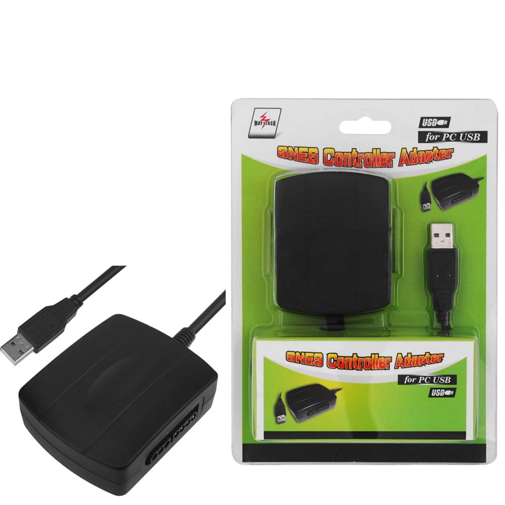 Mayflash PC044 Negro Adaptador SNES USB