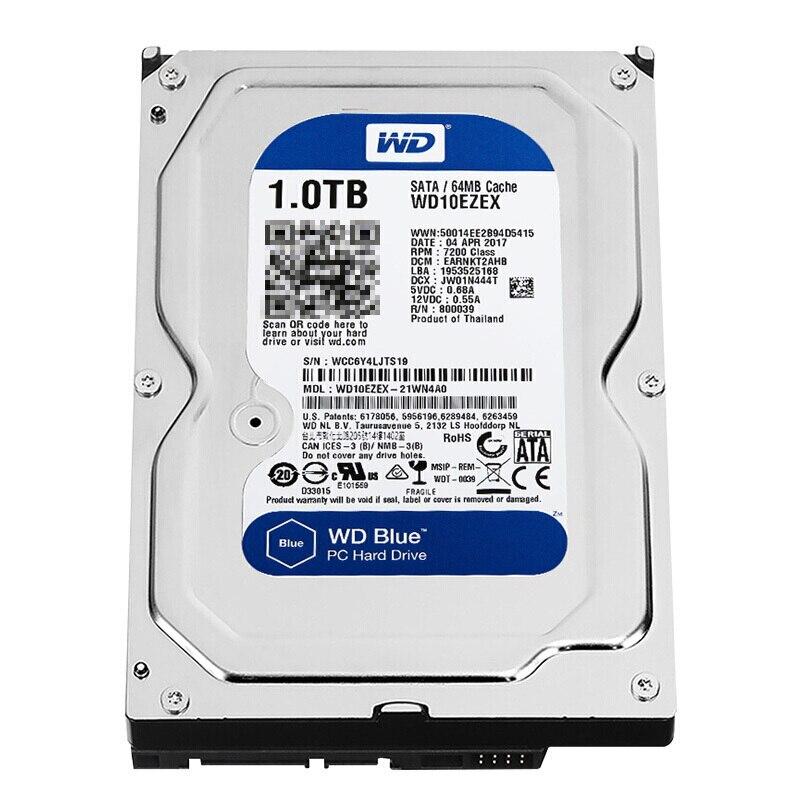 Tout nouveau disque dur interne Western Digital WD Blue 1 to HDD 3.5
