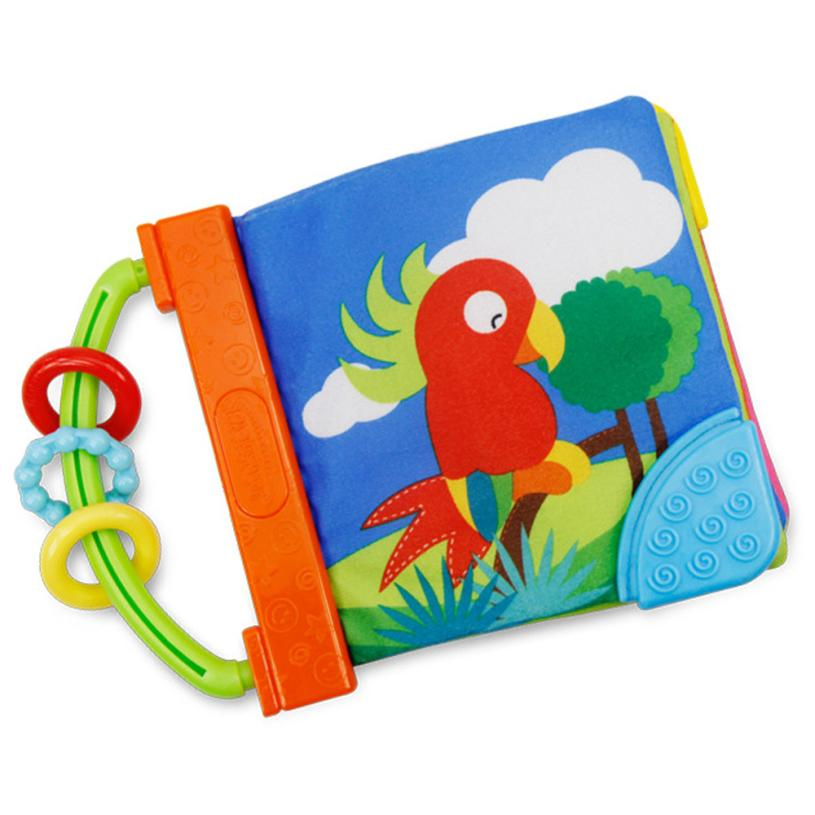 Niosung New Kid Cloth Book Infant Baby Intelligence Development Toy Cognize Books Baby Kids Gift