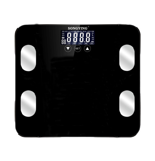 2018 Touch Manual Electronic Scales Bathroom Mi Smart Body Fat Scale Digital Weighting Scales Weight Mensur Digital Floor Scales