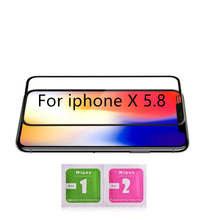 High Quality Tempered Glass For X Full Screen Protector Protective On The For iPhone X Glass