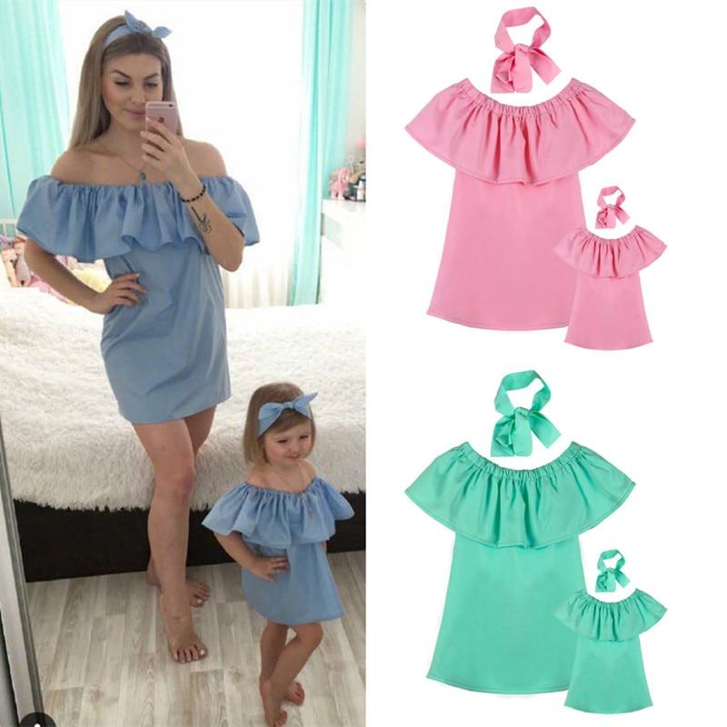 494c8b4148cc22 Summer Family Matching Clothes Tshirt Women Son Daughter Mum T-Shirt Tops  Kids Baby Girl Boys Casual T Shirt Outfits