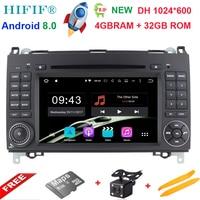 Android 8.0for Mercedes Benz Sprinter B200 W209 W169 W169 B класс W245 B170 Vito W639 dvd плеер Радио GPS Мультимедиа Стерео