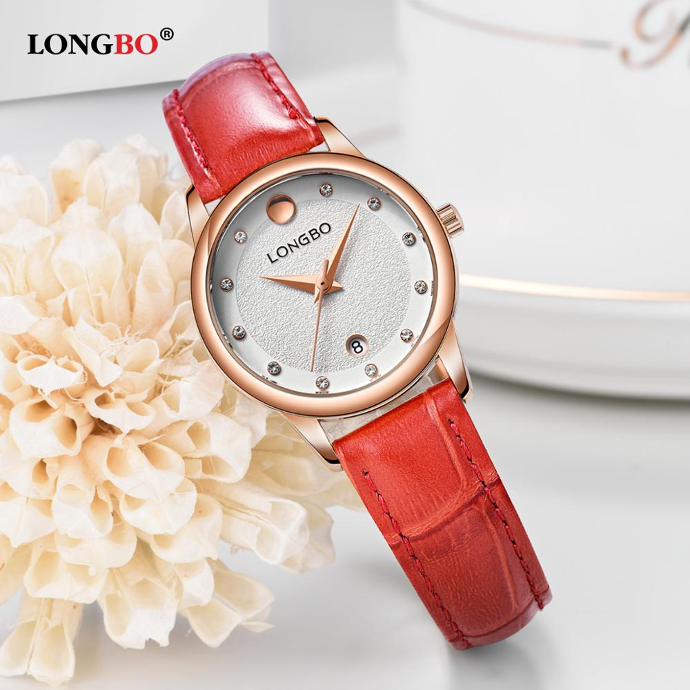 2017 LONGBO Luxury Quartz Watch Casual Fashion Leather Watches Men Women Couple Watch Sports Clock Analog Wristwatch Gift 5022