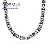 High Quality Stainless Steel Chain Necklace Wholesale Factory Hot China Oem Latest Design 316L Stainless Steel