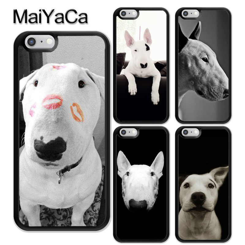 MaiYaCa bullterrier bull terrier dog puppy Phone Case Skin For iPhone 6 6S  7 8 Plus c685c5fbe6ea
