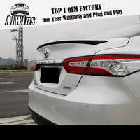 For Toyota Camry 7th and 8th generation ABS automotive parts decorative cover of rear fender backup box spoiler