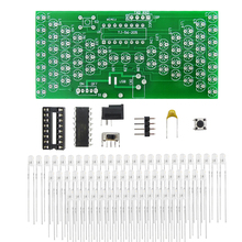 5V Electronic Hourglass DIY Kit Funny Electric Production Kits Precise With LED