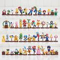 13 шт./компл. Super Mario Bros рисунках 3-6 см мини цифры Игрушки Goomba Луиджи Купа Troopa Гриб игры Коллекция ПВХ модель Куклы