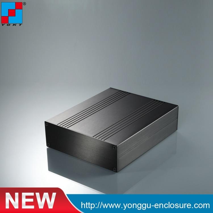 цена на 168*54*200mm (WxHxL) Extruded Aluminum Project Box power supply aluminum enclosure