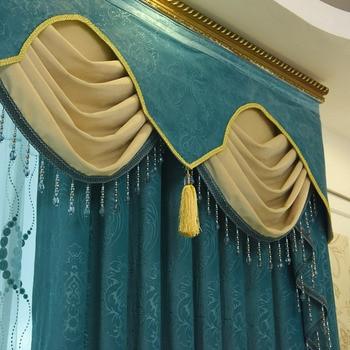 Piccola Tenda Per Finestra | Tende Su Misura Nordic Moderno Semplice Europeo Luce Blu Piccolo Fresco Olandese Flanella Blackout Cortina Di Tulle Mantovana N181