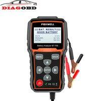 FOXWELL BT705 12V Automotive Diagnostic Tool 24V Car Battery Analyzer Tester Test for Cars Duty Trucks AGM Spiral GEL Batteries
