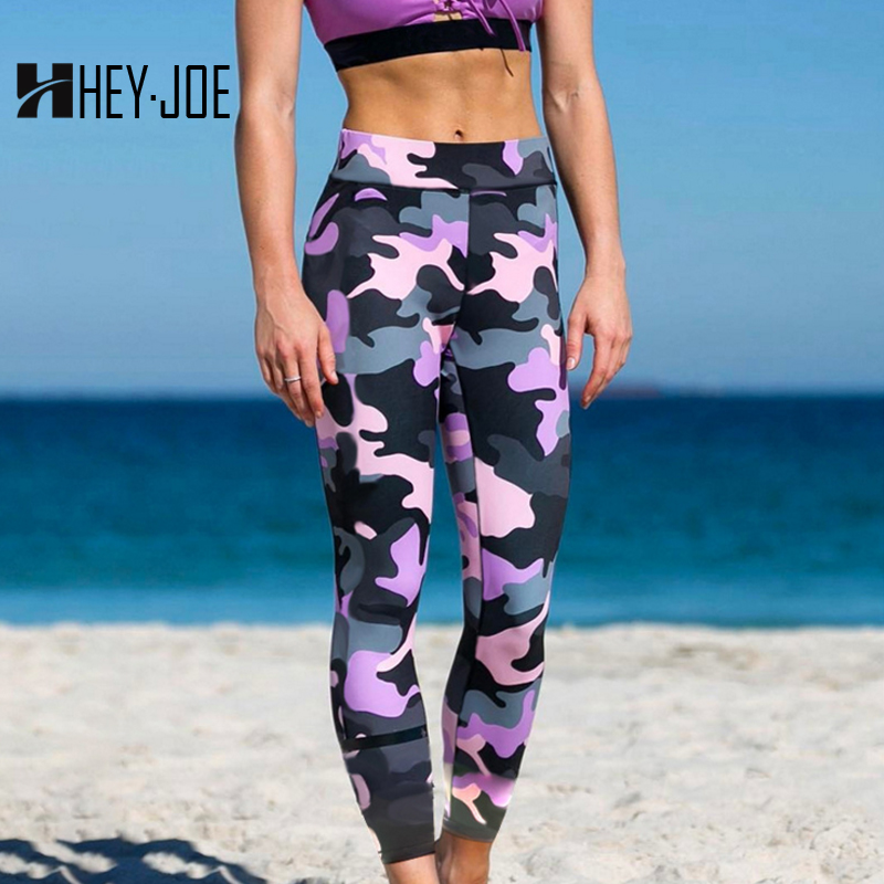 HEYJOE   Leggings   Women Hot Sales   Leggings   Print Fitness   legging   High Elasticity Leggins Camouflage Color Legins Trouser   leggings