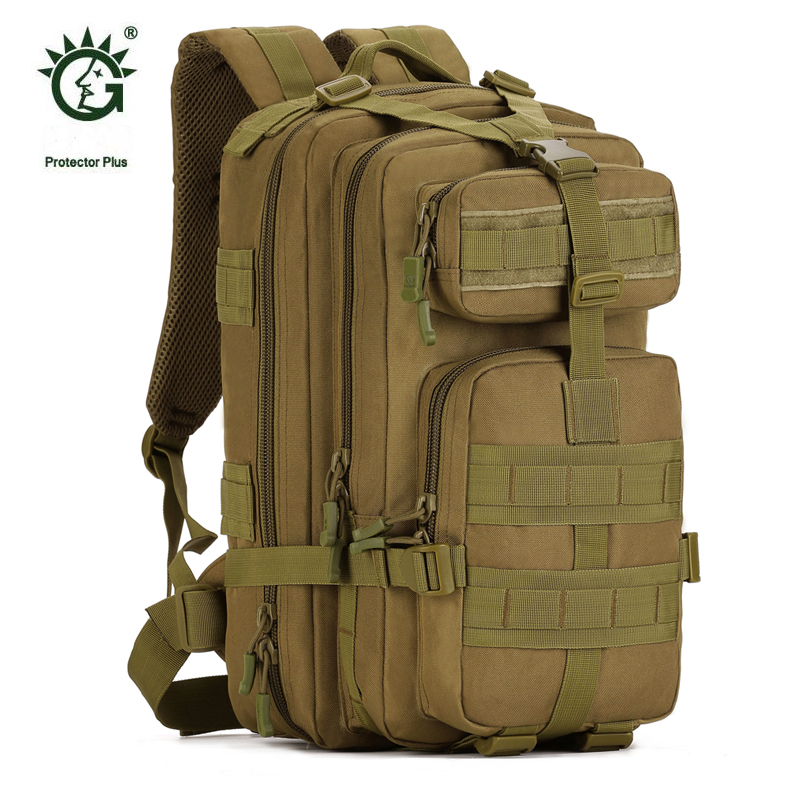 Camouflage Sports Outdoor Travel Military Molle Tactical Pouch Backpack Bags For Mochila Camping Hiking Backpacks Bags Sporttas