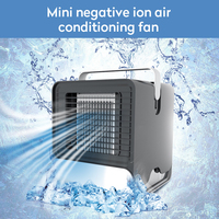 Mini USB Air Cooler Arctic Air Personal Space Negative Ion Air Conditioner Small Cooling Fan for Device Home Office Desk