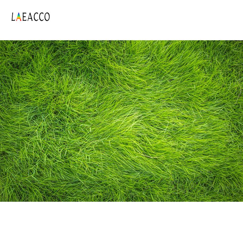 Laeacco Green Spring Grass Hay Stack Baby Newborn Pet Doll Portrait Photography Backgrounds Photographic Backdrop Photo Studio