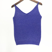 Sexy Knitted V Neck Tank Top