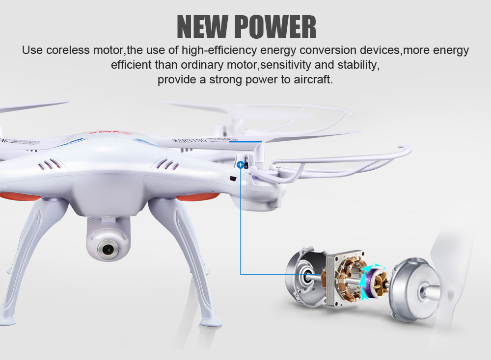 SYMA Official X5SW Drones with Camera HD WiFi FPV Real Time transmission RC Helicopter Quadrocopter RC Dron with Extra Battery 3