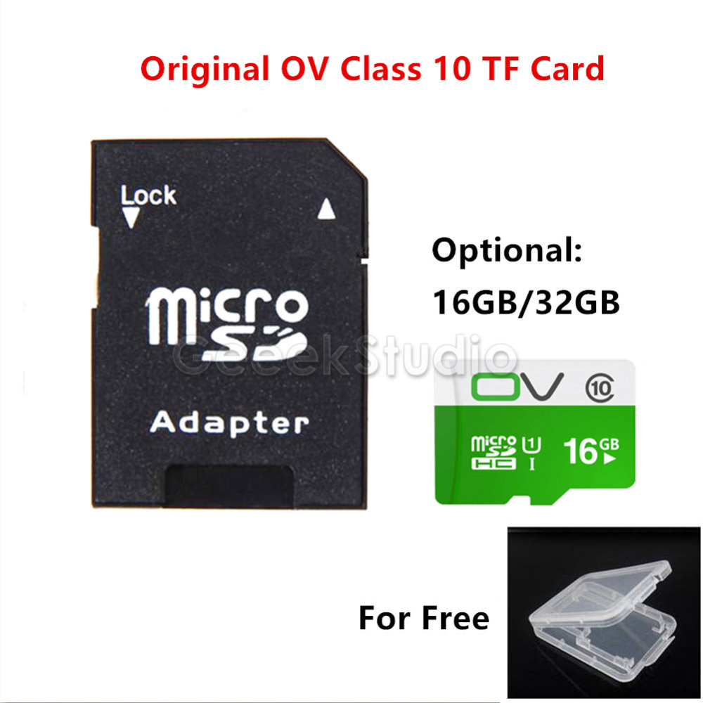 OV Class 10 16G / 32G Original Package 80MB/s Micro TF SD Memory Card for Raspberry Pi / PC / Tablet / Phone / Car DVR