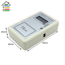 Free shipping New Precision Wireless Remote Control Handheld Reader Detector Cymometer Frequency Counter Meter 250-450MHZ