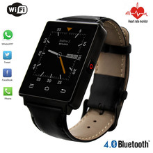 2016 Original D6 Smartwatch 1.63″ 320×320 Android 5.1 OS 1G + 8GB MTK6580 Smart Watch with GPS 3G SIM Wifi Bluetooth Heart Rate
