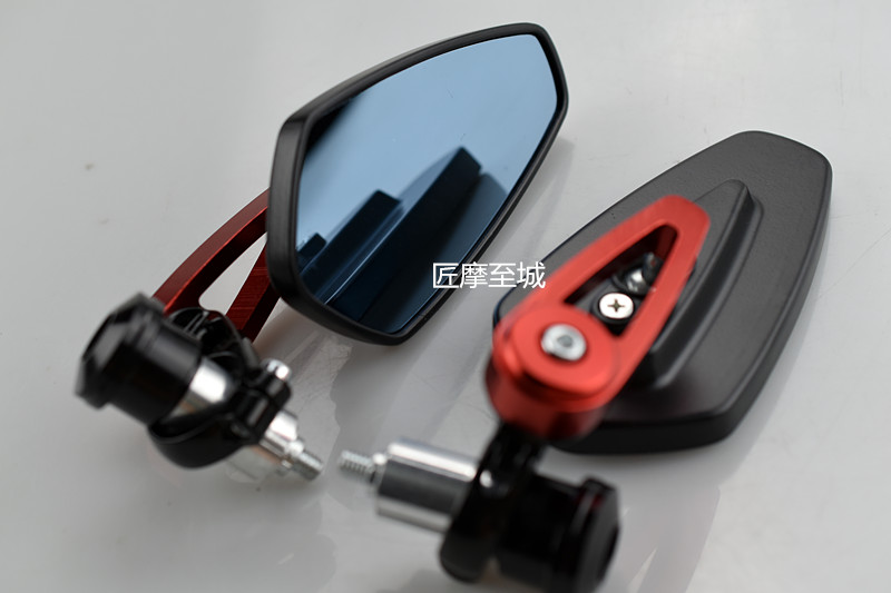 Universal 7/8 22mm handle bar motorcycle bar end mirror Motorcycle Mirror For honda yamaha Kawasaki z750 Suzuki Ducati BMW KTM 4pcs new motorcycle fluid reservoir tank oil cup universal for kawasaki zx6r 10r 12r 14r z750 honda suzuki yamaha ducati bmw ktm