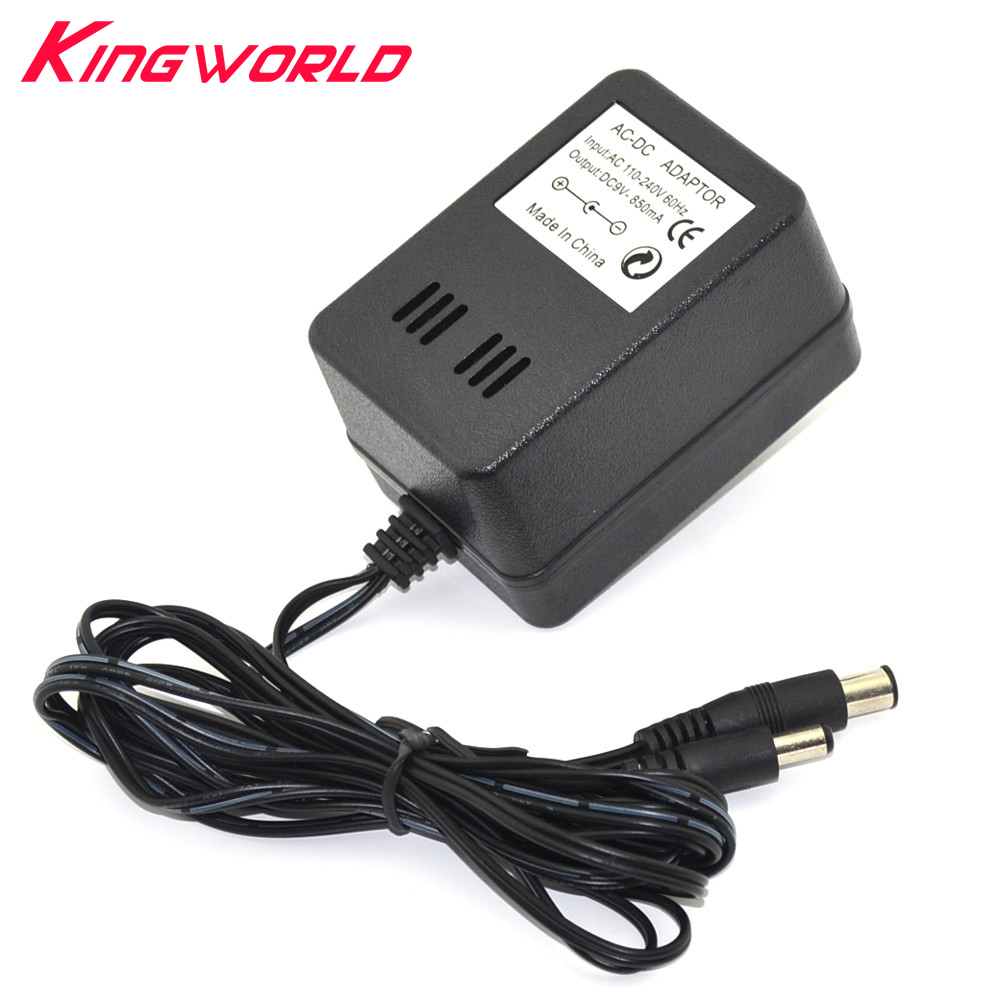 100pcs Power cord 3 in 1 US Plug AC Adapter Power Supply Charger for Nintendo NES for SNES for SEGA Genesis