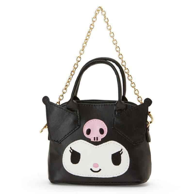 c021ebc0f ... Cute Hello Kitty My Melody Cinnamoroll Kuromi PU Leather Coin Purse  Wallet Girls Mini Tote Bag