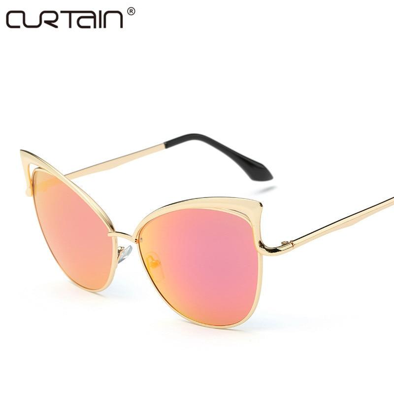 Nové módní kočičí oči luxusní sluneční brýle 2019 dámské - Příslušenství pro oděvy