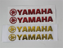 Motorcycle Decals Stickers 3D Raised Decal Sticker Fits For Yamaha for honda