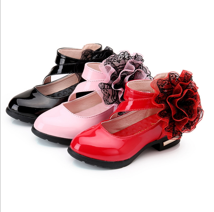 2016 Spring And Autumn New Girls Shoes In The Big Children's Shoes Korean Fashion Princess Shoes Childrens Shoes Size 27--37