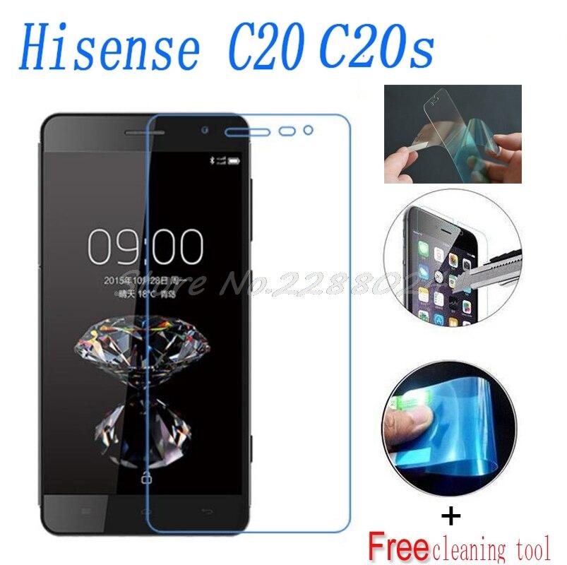 2PCS Ultrathin Nano-proof membrane not  glass Screen Protector for Hisense H910 K8 C20 C20s smartphone smartphone
