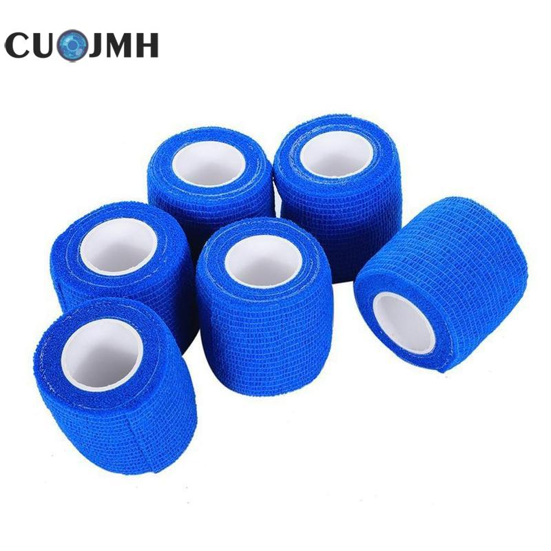 Ecurity Protection Waterproof Self Adhesive Elastic Bandage Elastic Wrap First Aid Sports Body Gauze Vet Medical TapeEcurity Protection Waterproof Self Adhesive Elastic Bandage Elastic Wrap First Aid Sports Body Gauze Vet Medical Tape