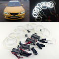 Excellent Angel Eyes 8pcs Halo Ring For Mazda6 Mazda 6 Mazdaspeed6 2002-2008 Ultrabright illumination CCFL Angel Eyes kit