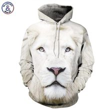 Mr 1991INC Animals Print Fashion Brand Hoodies Men Women 3d Sweatshirt Hooded Hoodies Cap And Pockets