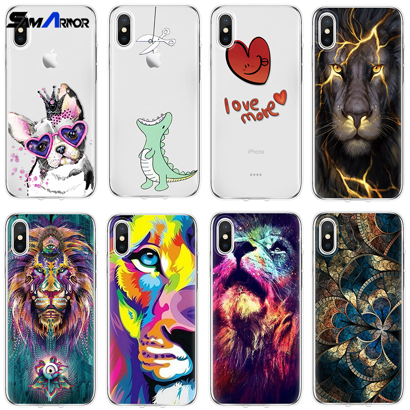 Cute Animal Case For Iphone X XS Max XR 5 SE 6 S 8 7 Plus For Oneplus 3 5 5T 6 6T Soft Coque For Google Pixel 2 XL Luxury Fundas