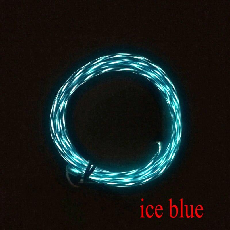 Jagen EL Draht Flexible LED Neon Licht streifen Rohr Rope für Auto ...