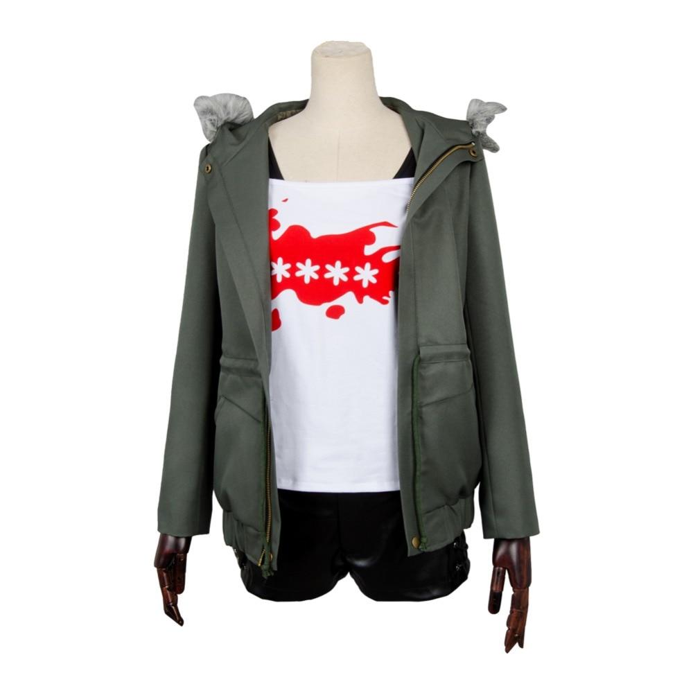 Persona 5 Cosplay Futaba Sakura Cosplay Costume manteau veste seulement fait sur commande n'importe quelle taille Halloween carnaval Cosplay