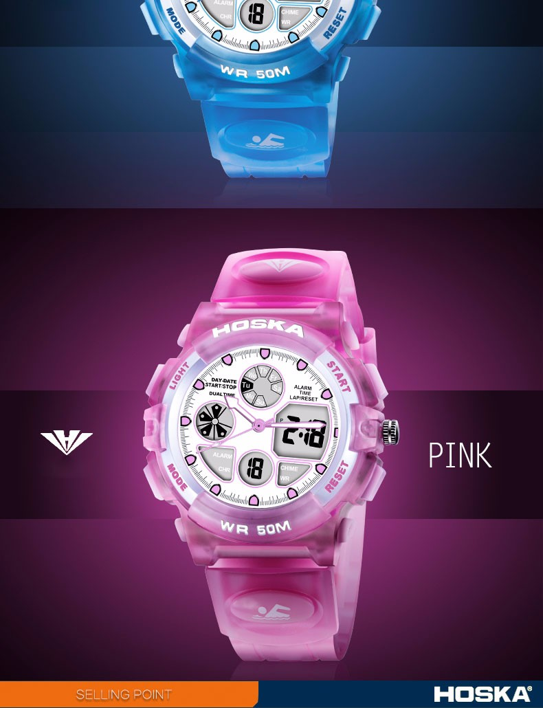 Electronic Watch Women